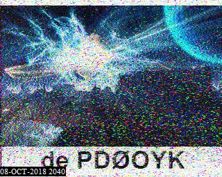 08-Oct-2018 20:44:52 UTC de PD1KPS